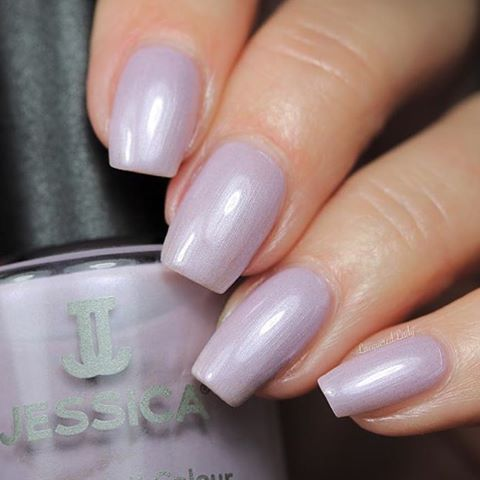 1113 Lilac Pearl    Polished in Pastelsjessicacosmetics jessicacosmeticsruhellip