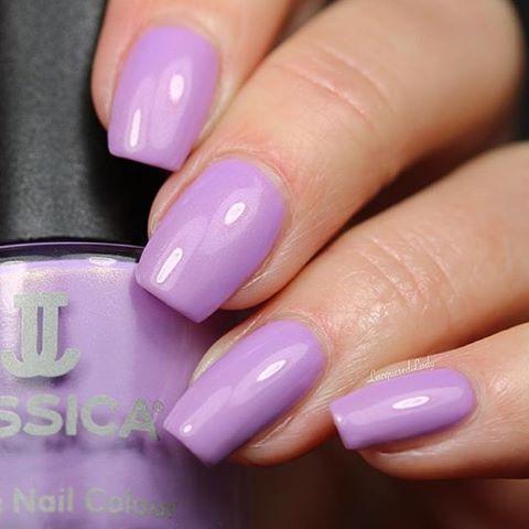 1117 Blushing Violet   Polished in Pastels jessicacosmetics jessicacosmeticsruhellip