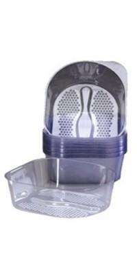 Одноразовый пластиковый вкладыш для педикюрной ванночки