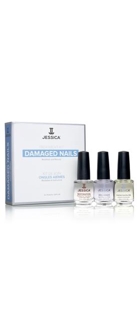 Набор для поврежденных ногтей Damaged Nail Kit (Mini) (Restoration + Brilliance + Phenomen Oil)