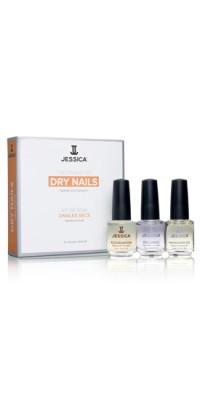 Набор для сухих ногтей Dry Nail Kit (Mini) Kit (Rejuvenation + Brilliance + Phenomen Oil)