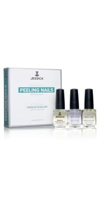 Набор для слоящихся ногтей Peeling Nail Kit (Mini) (Fusion + Brilliance + Phenomen Oil)