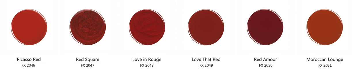 red force swatches
