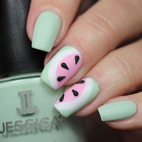 JESSICA Mint Blossom Pink Daisy Chalk White jessicacosmetics jessicacosmeticsru manicurehellip